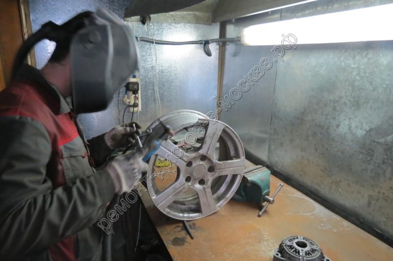 Недорогой ремонт дисков в Москве